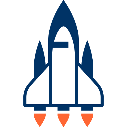 Spaceshuttle Icon für Gaficon